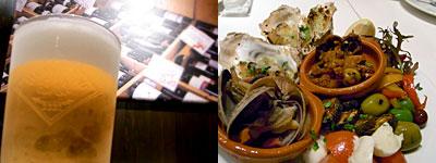 Euro table(ユーロテーブル):前菜の盛り合わせ