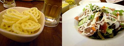 Cafe&Bar M's272(エムズ ニーナナニ):生ハムのサラダ