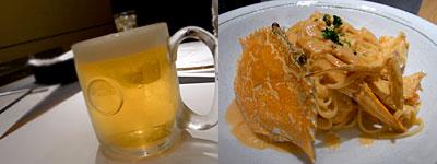 37 PASTA : たっぷり蟹ざんまいのトマトクリームソース リングイネ