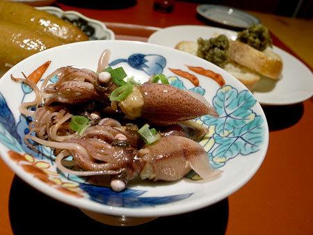 石挽き手打ち蕎麦 地酒 木曽路:季節の豆皿三種盛り
