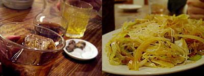 新世界 檳榔の夜:紹興酒と炒めビーフン