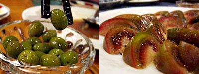 シェ・クマ:小豆島のオリーブ、ブラックトマト