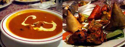 インド料理 SURAJ(スラージ):タンドリーチキンやカバブ