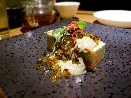 中国菜 四合院凛丹(しごういんりんたん):ピータン豆腐
