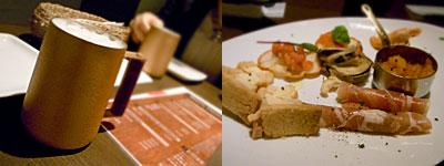 CAFE DINING 咲PuRi(サプリ):前菜の盛合わせ