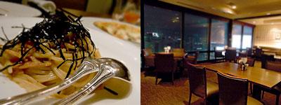 レストラン&バー BLOSSO:パスタも