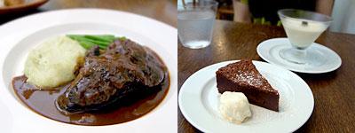 pissenlit (ピサンリ):仔牛ホホ肉の赤ワイン煮込み