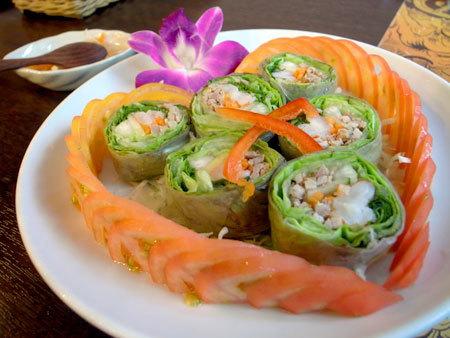 タイ料理店 ドゥワンディー:生春巻