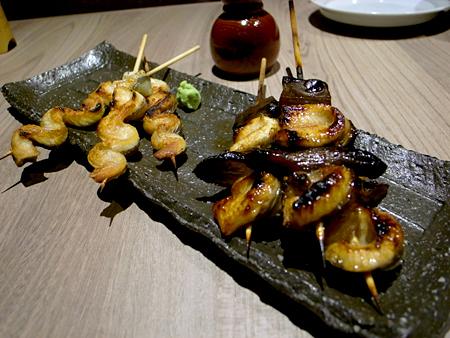 『 鰻串とおでん 一 (HAJIME:はじめ) 』:うな串 白焼き&たれ焼き