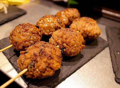 岩瀬串店:鶏団子