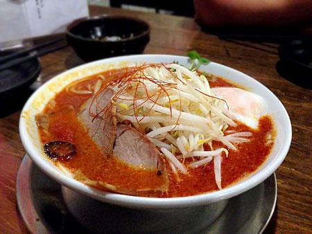 ラーメン 麺場 元次:魚雷辛麺