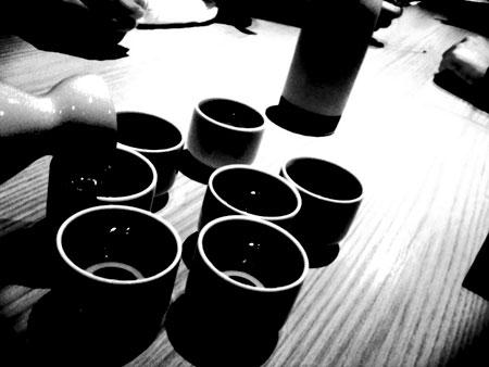 〆の日本酒