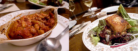ロベール・エ・ルイーズ:トリッパと白インゲン豆のグラタン