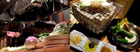 ROBARTA DE NIRO (炉端デ・ニーロ):焼野菜盛り合わせ