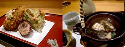 大人のごちそう周:鯛と松茸の土瓶蒸し