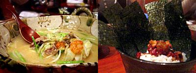 dining 美久馬:焼きちゃんぽんとチャンジャごはん