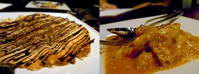 Torattoria CORTESE(トラットリア コルテーゼ):豚足のバリバリオーブン焼き、トリッパのじっくりトマト煮込み