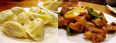 中国菜館 春光亭:水餃子、酢豚