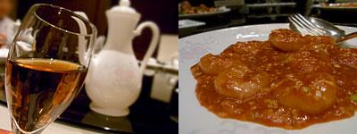 中国料理 桃林:海老チリ