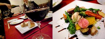Bistro agreer(ビストロ アグレー):特製アグレーサラダと野菜いろいろ