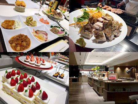 ホテル日航福岡 カフェレストラン セリーナ:40種の料理たち