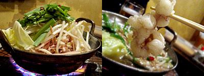 煮こみ 白金店:もつ鍋