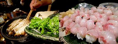 おのころ五合(はんじょう):博多葱鮪なべ