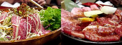 七輪焼 にくやき極味や 城西店:極パッチョ、ロース、カルビ