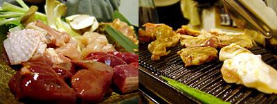 博多水炊き・とり炭火焼 寅と辰:特選地鶏と季節野菜の焼き物盛り合わせ