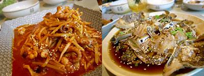 韓国料理 鄭家(ジョンガ):ナクチボクム、カンジャン ケジャン