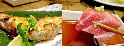 博多炉端 魚男 FISH MAN:天然鯛の炙り焼 鉄人・道場の秘伝ダレで