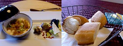 フランス料理 颯香亭(そうかてい):カリフラワーのロワイヤル