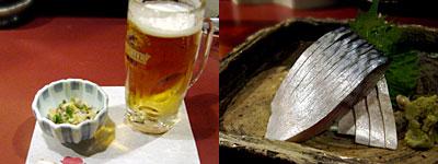 蕎麦と旬菜 晴や:しめ鯖