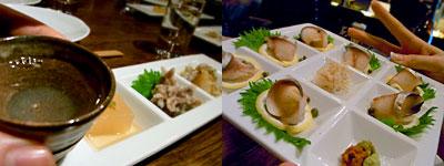 Sake Dining さが蔵:鯖の生ハム、東一
