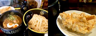 元祖 博多つけ麺 元功:カレーつけ麺