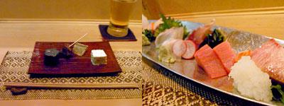 酒食家 博多ひさご:刺身の盛り合わせ