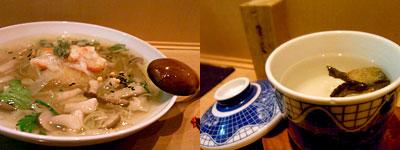酒食家 博多ひさご:煮穴子とカブの深ネギのあんかけ