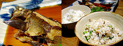 Toc-Toc (トクトク) 警固店:めばるの煮付け、サバ飯