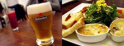 pizza world & m (ピッツァ ワールド アンド エム):前菜とサラダの盛合わせ