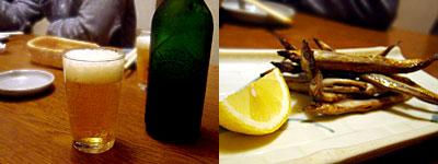 寺田屋:ビールは勝手にね♪