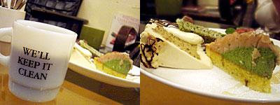 Gouter Cafe (グーテカフェ):トリプルケーキセット