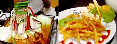 韓国風鉄板鍋