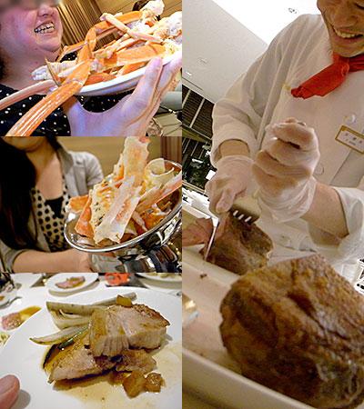 ホテル日航福岡『 SERENA (セリーナ) 』:仔羊のお肉やホエー豚の厚切りステーキ