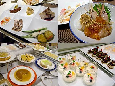 ホテル日航福岡『 SERENA (セリーナ) 』:鹿肉ソーセージ、帆立貝のカルパッチョ、etc