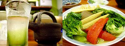 小料理 悦:季節のお野菜盛り合わせ