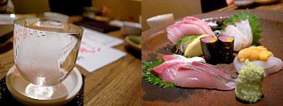 振る舞い処 水魚:刺身盛り