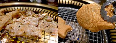 鶏屋韓の三八:たい焼きも。