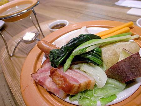 みのりカフェ 福岡天神店:温野菜のバーニャカウダ