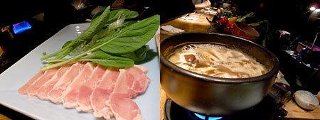 大どころ:さつま香潤鶏のすき焼き