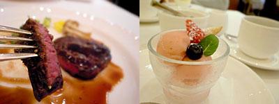 アトリエ・オキ:牛バラ肉の赤ワイン煮